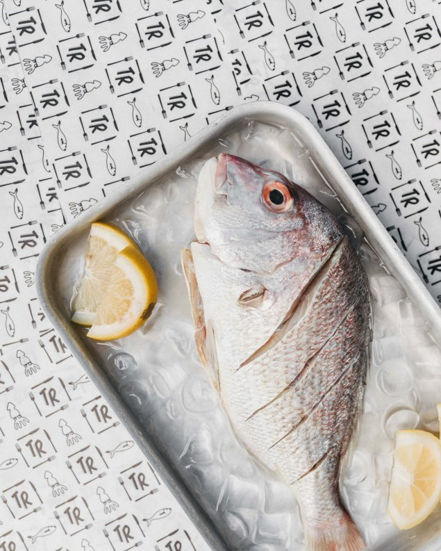 Mediterranean Whole Snapper (Bake at Home)