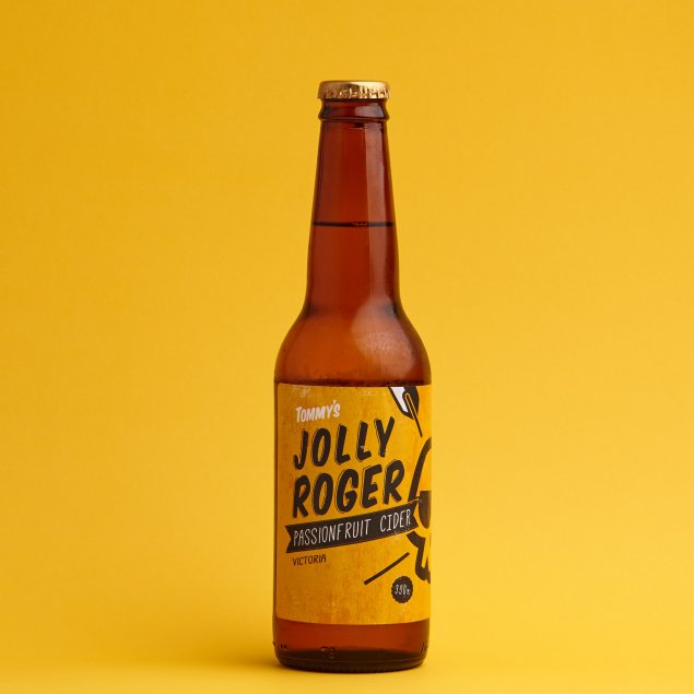 'Jolly Roger' Passionfruit Cider (6 or 24 pack)